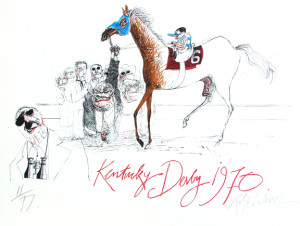 Steadman Kentucky Derby 1970 SM web new