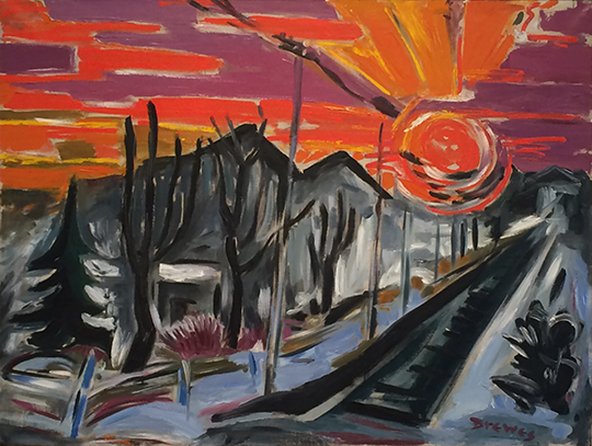 Drewes Colorado Sunset 1960 30 x 39 WEB