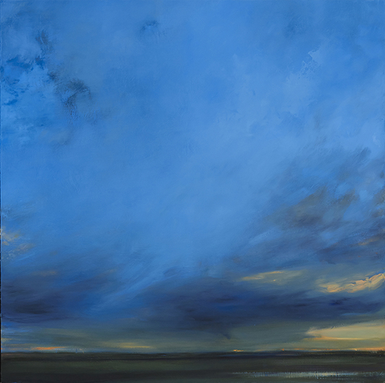 Salopek 'blue prairie' 48''x48'' oil on canvas 2014 web