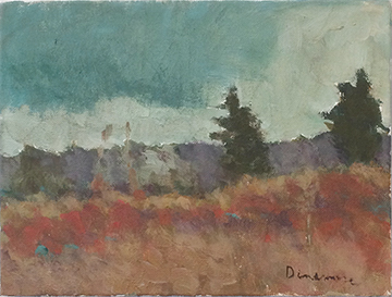 Dinsmore Trees in Landscape 2014 9 x 12 WEB