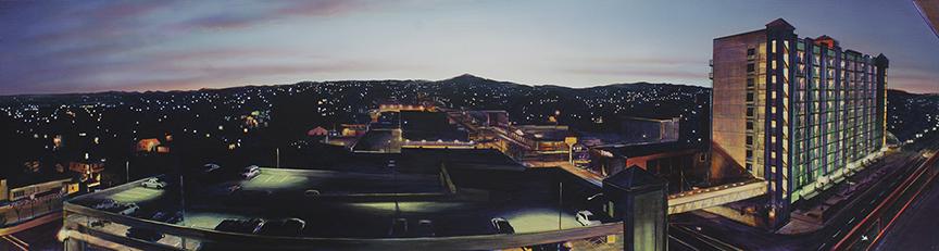 Dula National City Sunrise 11 x 40 x 5 WEB
