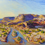 Lee Morning light on the big bend 48x72 WEB