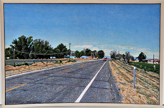 Lloyd Brown | Hinckley, Utah US Highway 50 | William Havu Gallery