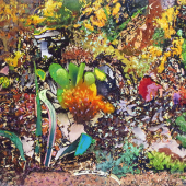 Waid GARDEN CARNIVAL 2014 mixed media on paper 21 in. x 28 in WEB