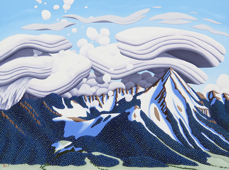 Tracy Felix Crested Butte oil on panel 30 x40 WEB